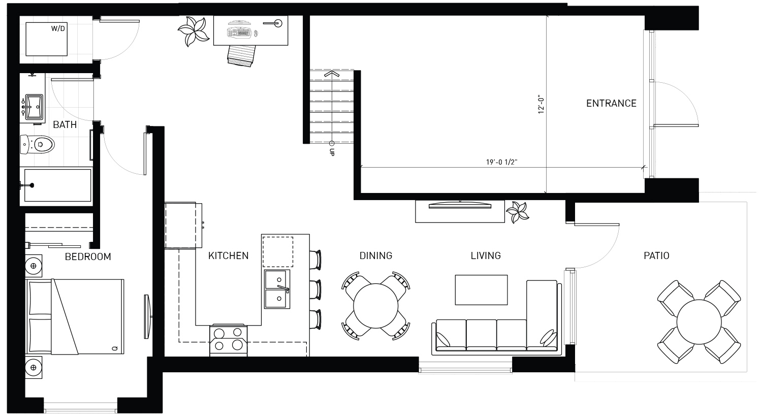 Plan 1 Floorplan