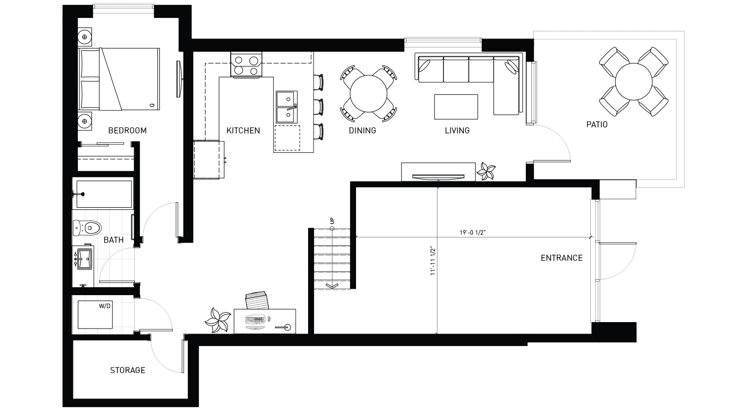 Plan 4 Floorplan