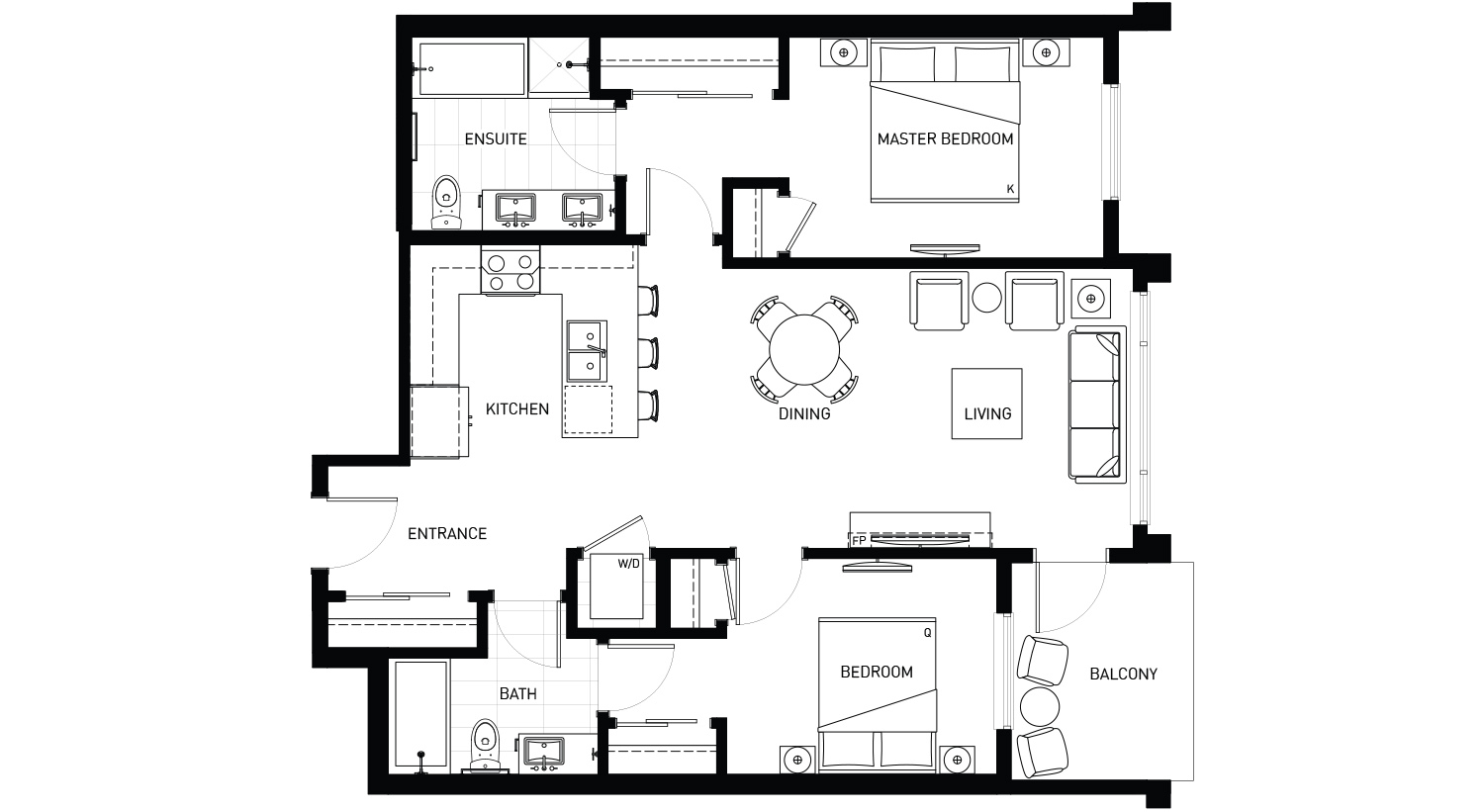 Plan B2 Floorplan