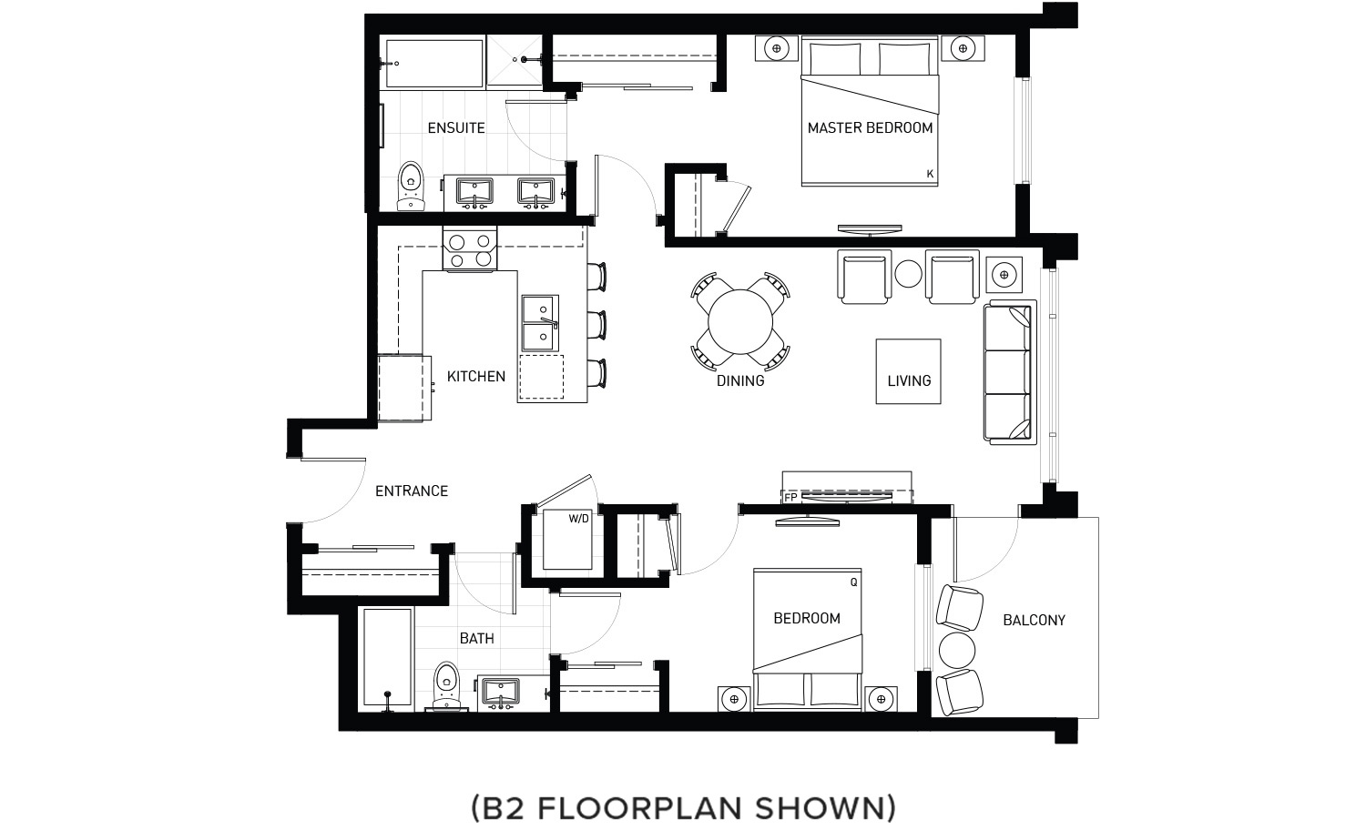 Plan B1 Floorplan