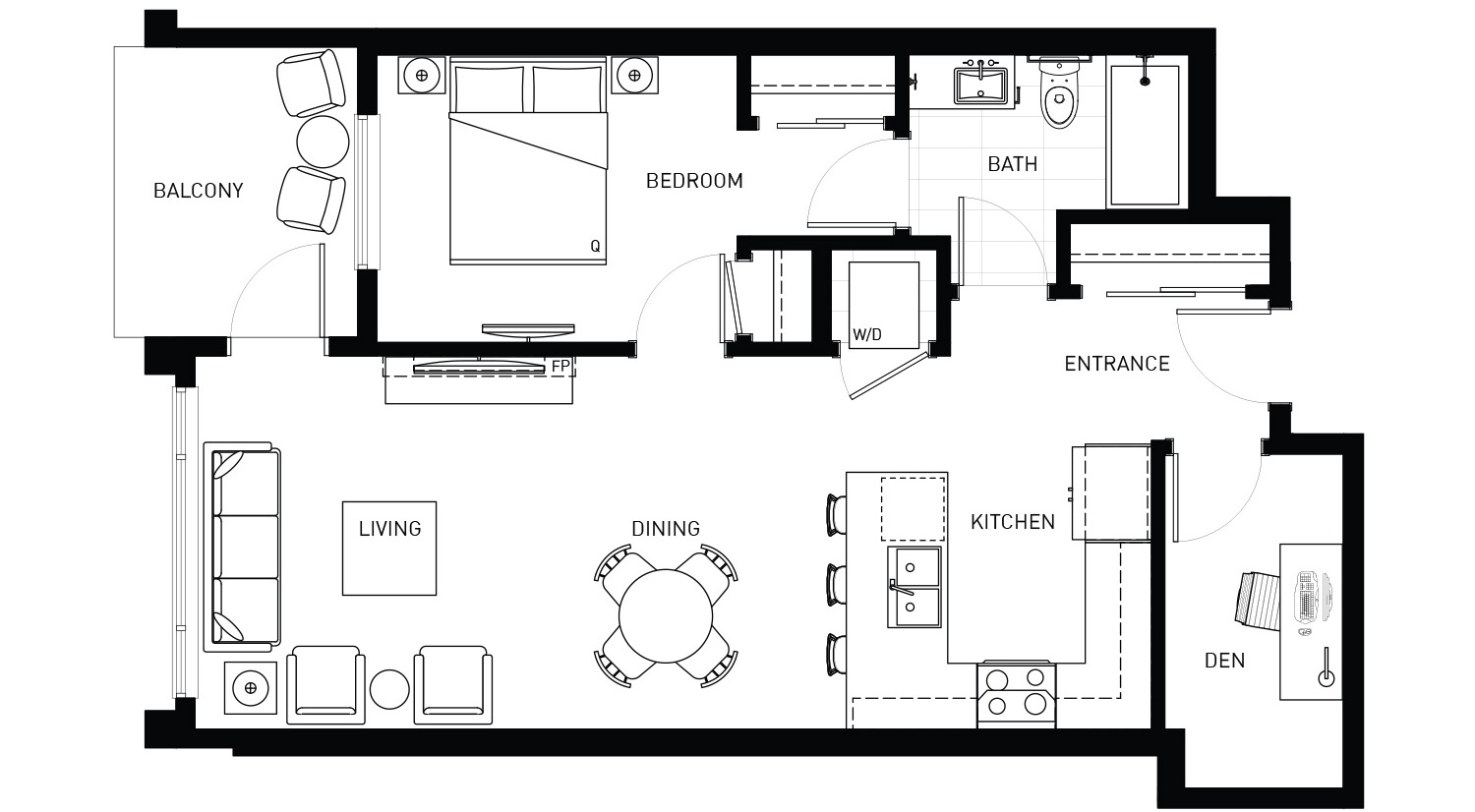 Plan D1 Floorplan